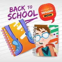 Back to school with realistic notebooks