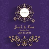 Cornice per matrimonio vintage