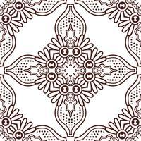Patrón sin costuras Elementos decorativos vintage. Fondo dibujado a mano