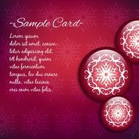 Impression de fond mandala rouge et violet