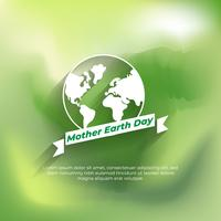 Blurred mother earth day background