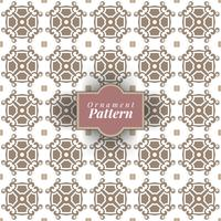 Arabesque decor. Seamless pattern. Vintage color