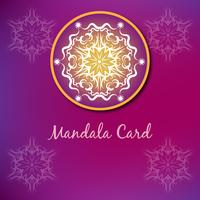 Purple luxury mandala design