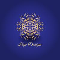Luxus-Logo-Mandala-Design