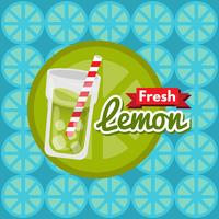 Sticker lemon juice