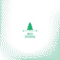 Christmas bright halftone background