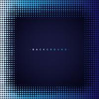 Abstrait bleu et noir avec hexagone
