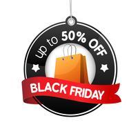 Modello di design di vendita del Black Friday