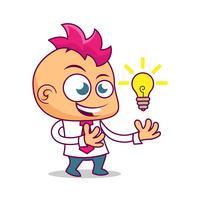 Empresário começa a idéia