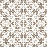 Floral pattern. Wallpaper baroque, damask. Seamless vector background. Dark gray and white ornament