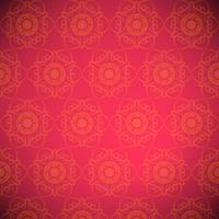 Red mandala pattern background