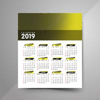 Calendario dei mezzitoni 2019