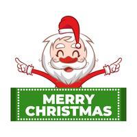 Disegno di Babbo Natale per Natale
