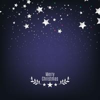 Vacker blå stjärna bakgrund för jul säsong