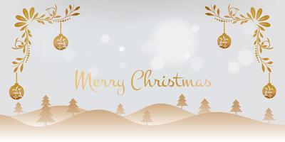 Fondo de navidad de la vendimia