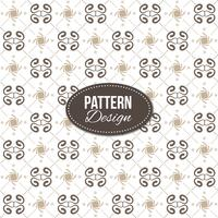 Pattern with ornaments