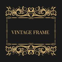 Vintage en decoratief frame
