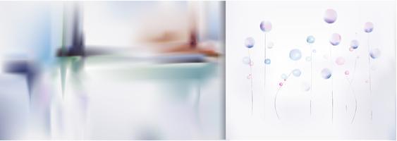 Abstracte geweven ontwerp grafische illustratie
