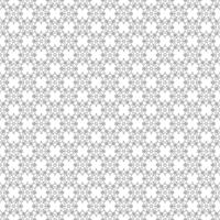 Abstract floral pattern. Vector gray and white background. Geometric leaf ornament