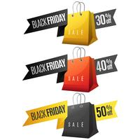 Black Friday sale ribbon