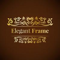 Beautiful ornament frame