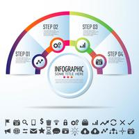 Circle Infographics Design Template