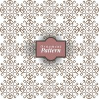 Seamless damask pattern background for wallpaper design