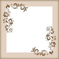Elementos de design floral vetor
