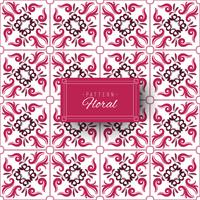 Violet color decorative pattern