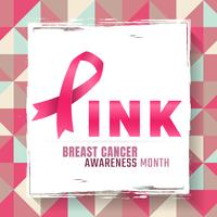 Breast Cancer awareness Vector background