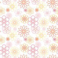 Vacker blommor vektor
