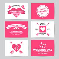 Bruiloft Retro Vintage Vector Label