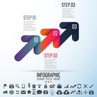 Modèle de conception d'infographie
