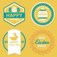 Día de Pascua Vector Logo para banner
