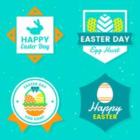 Easter Day Vector Logo for banner