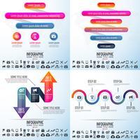 Plantilla de diseño de infografías vector