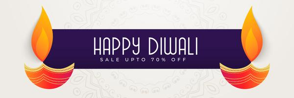 happy diwali banner design for festival season