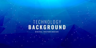 Diseño de fondo de concepto de tecnología azul