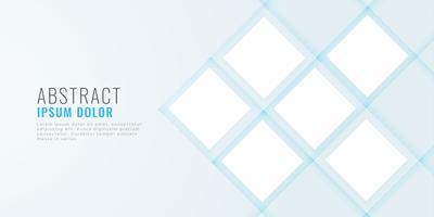 banner web mínimo limpio con espacio de imagen