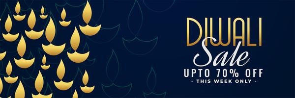 diwali sale banner with offer details