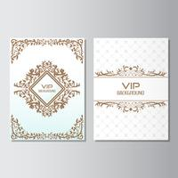 invitation background flyer style Design Template