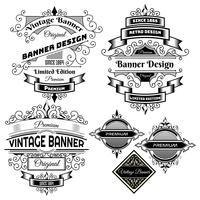 Vintage bakgrunds etikett Design mall