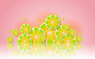lemonade Vector background