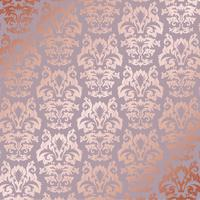 Elegant rose gold pattern background