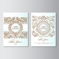 invitation background flyer style Design Template