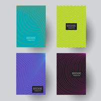 Desenhos abstratos brochura