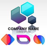 Logo de vector mínimo moderno para banner