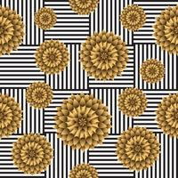 Seamless Flower pattern Vector background