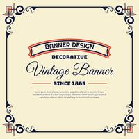 Vintage background lable style Design Template