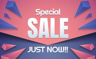 big sale template banner Vector background